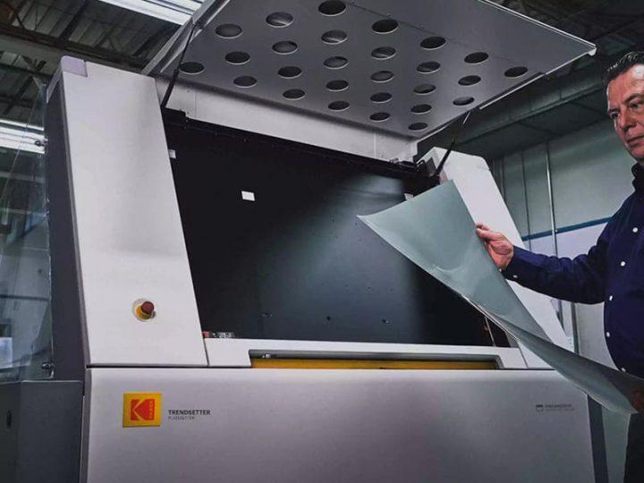Família de CTP Kodak: tecnologia e mais economia na pré-impressão