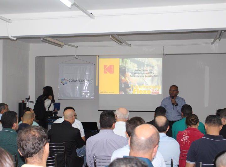 Zanatto e Kodak participam do CONAFLEX 2019