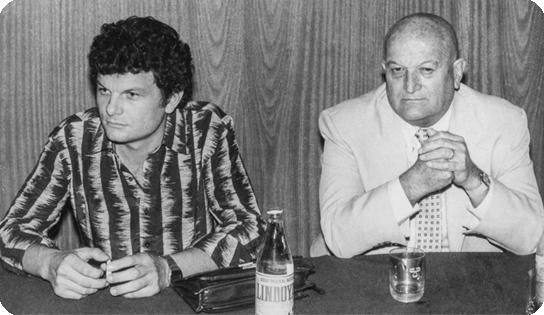 Adair e Douglas em 1978 - Zanatto Soluções Gráficas