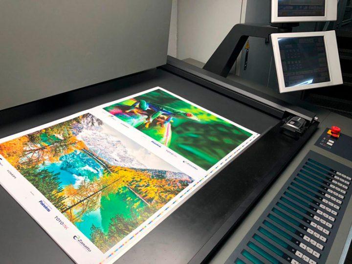 Zanatto participa de instalação de impressora Komori em parceria com o Grupo Furnax