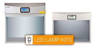 lâmpada para cabines de iluminação